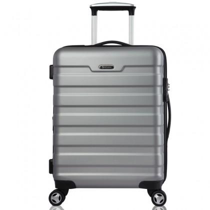 Conwood Ivory kuffert - 73 cm, sølv