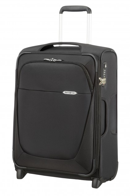 Samsonite B-Lite 3 - upright kabine, 55 cm, sort