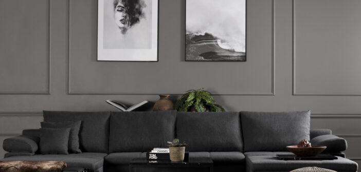 sove sofa med chaiselong