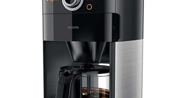 test af kaffemaskine