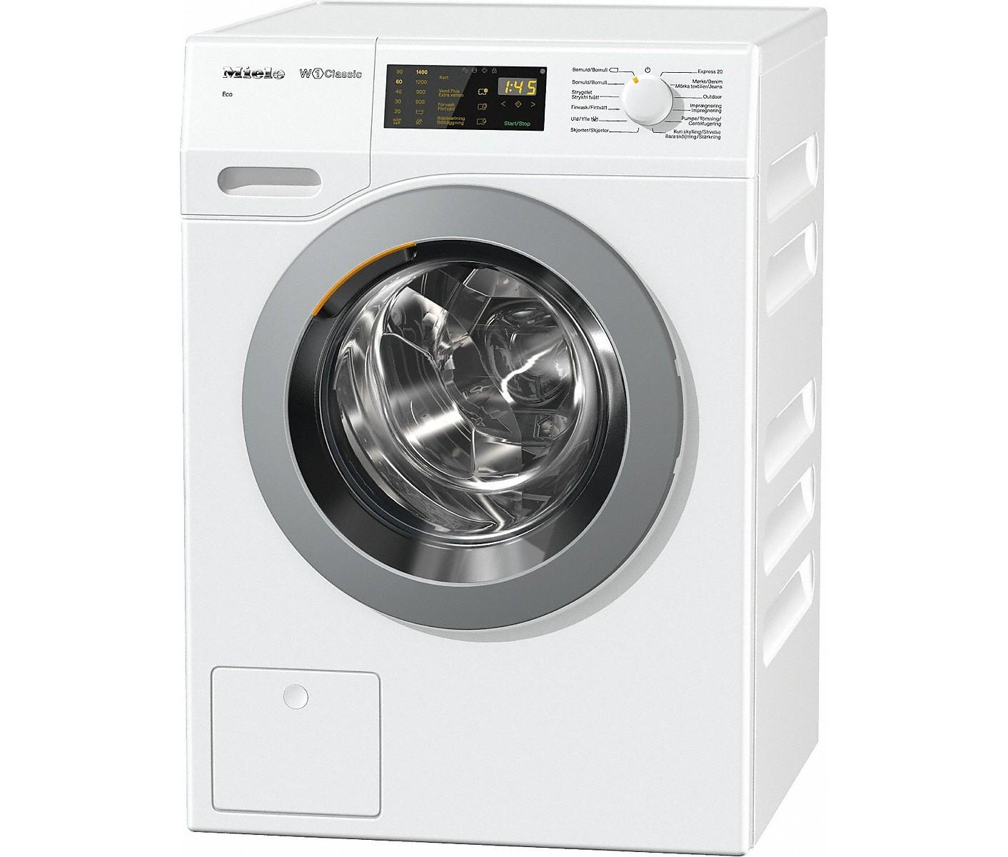 hvor mange omdrejninger skal en vaskemaskine have