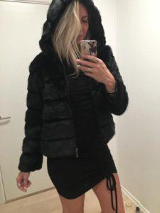 Bedste faux fur jakke