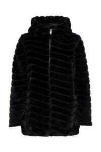 Faux fur jakke bedst til prisen
