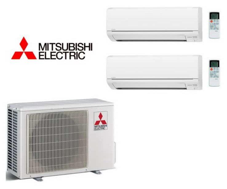 Mitsubishi luft til luft varmepumpe