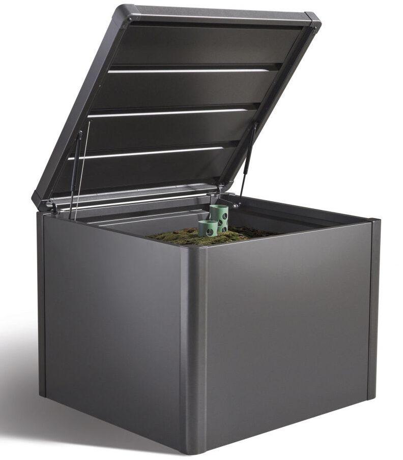 lukket kompostbeholder